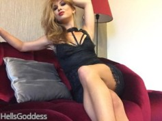 Sensual Blonde Dominatrix
