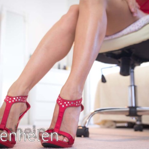 Beautiful Mistress hot legs tease